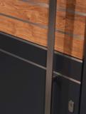 Buitendeur hout-Alu